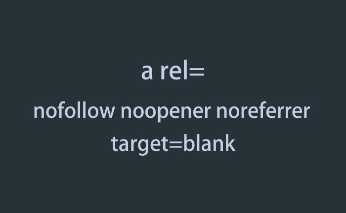 """rel=""""nofollow noopener noreferrer"""""""